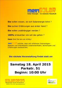 18.04.2015 mein Solar-Parkstr51